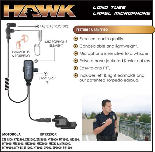 Hawk Lapel Microphone