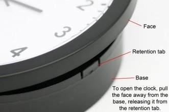Wifi Wall Clock